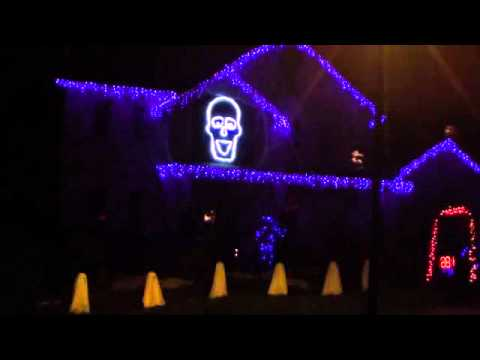 Halloween Light Show 2011 -  Boogie Man