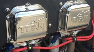 Titan 180 HP Aircraft Engine from Continental Motors