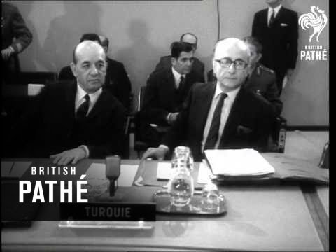 NATO Meeting In Brussels (1969)