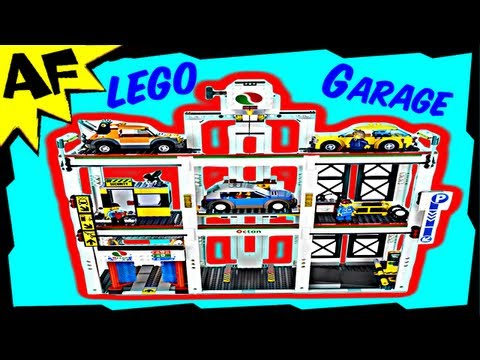 Parking GARAGE 4207 Lego City Animated Building Review