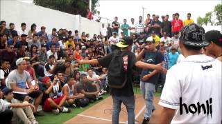 6. peter pop vs honli. face to face el salvador 2013
