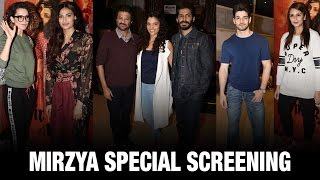 Bollywood Stars Cheer For Harshvardhan Kapoor's 'Mirzya' | Latest Bollywood News | Bollywood Movies