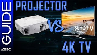 Should You Buy a Projector? - TV vs Projector
