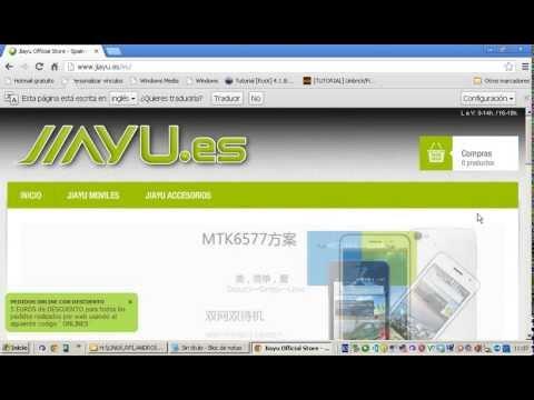 Instalación CWM Recovery por SPFlash Tool JIAYU.es