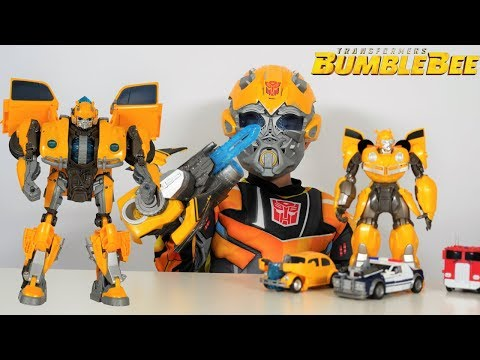 BIGGEST Transformers Bumblebee Movie Toy Collection Unboxing With Ckn Toys