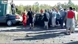 Russian help in emergencies (help on the road) \ Русские помогают на дорогах