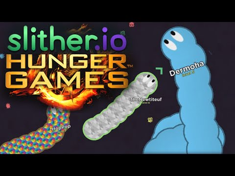 SLITHER.io HUNGER GAMES ! [Worm.is]