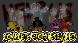 The Full Story Of Five Nights At Freddy's