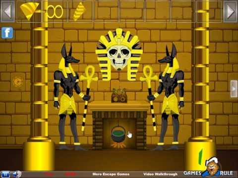 egyptian queen escape video walkthrough