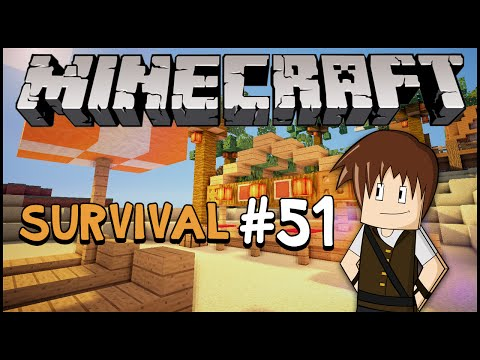 Minecraft Survival #51: KOKOBONGO! Construindo a praia! (Parte 2)