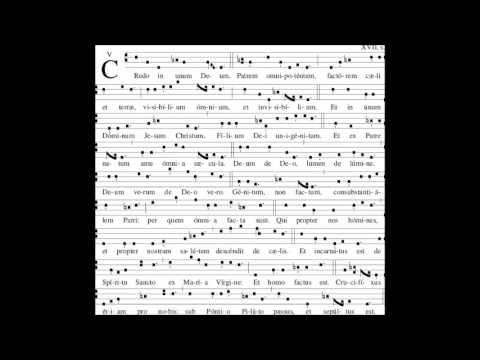 Gregorian Chant - Credo 3
