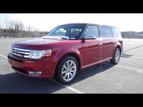 2010 Ford Flex Limited Start Up, Engine, and In Depth Tour