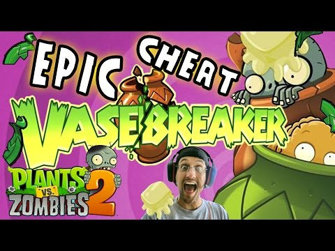 EPIC VASEBREAKER CHEAT! Plants vs. Zombies 2 Glitch!