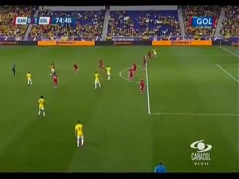 Golazo James Rodriguez - Seleccion Colombia VS Canada - Amistoso 2014 HD