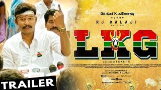 RJ Balaji's LKG Official Trailer | Priya Anand Movie | Review & Reaction