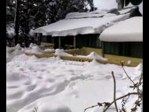 Snow in Dalhousie at Sagrika Resort