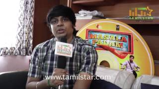 Karthik Acharya At Masala Padam Movie Team Interview