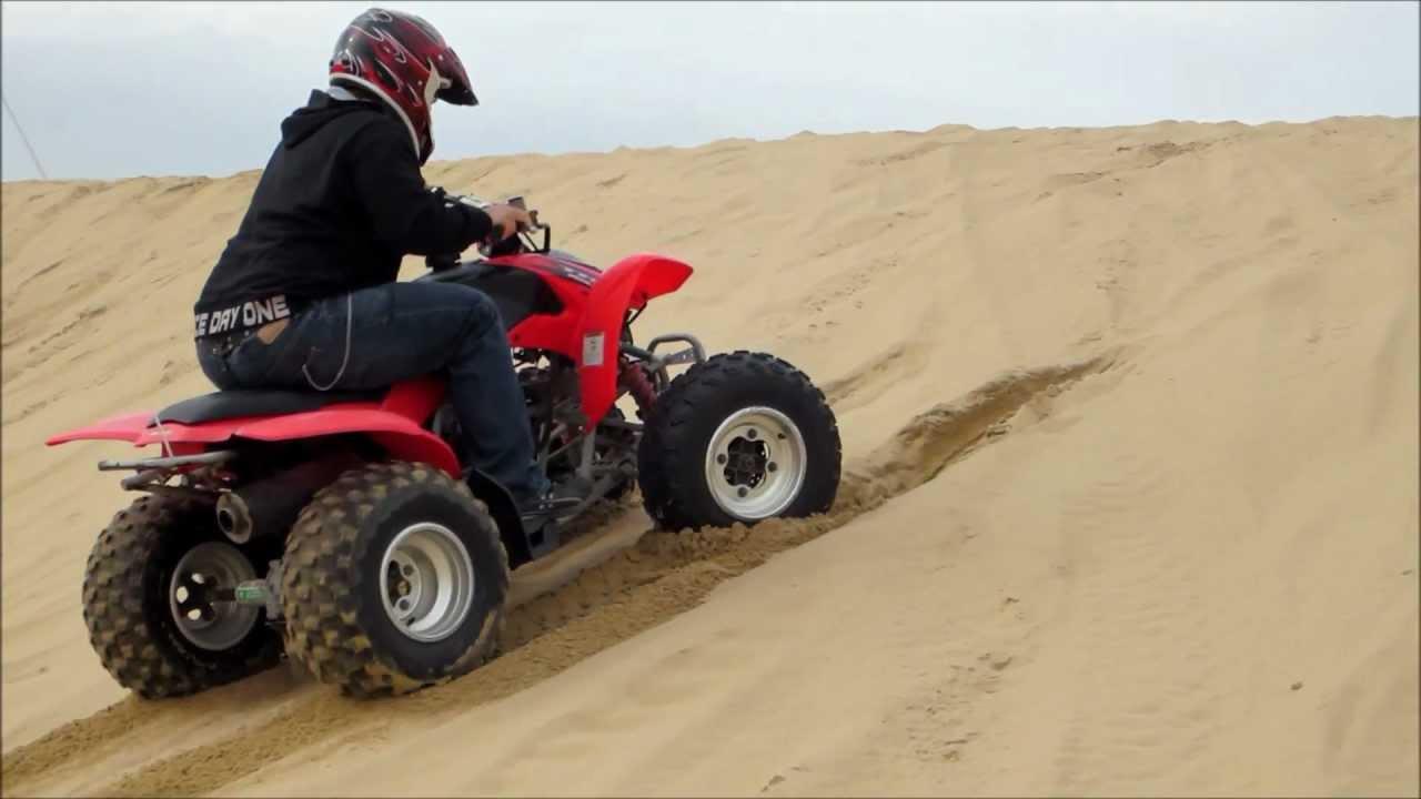 Honda Trx 250ex My First Time Riding Atv Oceano Dunes