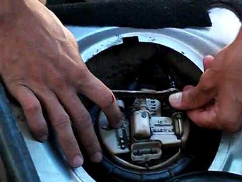 Dica de como retirar os cabos da bomba de combustível - Peugeot 206