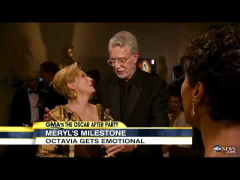 Oscars 2012: Meryl Streep, Octavia Spencer Discuss Academy Awards Win, Standing Ovations