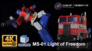Magic Square MS-TOYS MS-01 Light of Freedom  (MP3.0 Optimus Prime?) Transformation Guide: Q.Review84