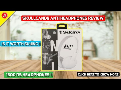 Skullcandy Anti wired headphones unboxing and review | Is it worth for the price???