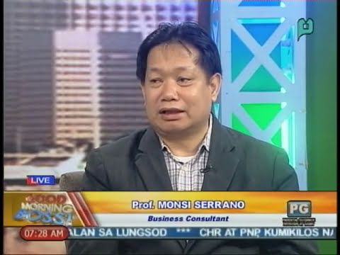 Monsi A. Serrano on Philippine Economy and Entrepreneurship