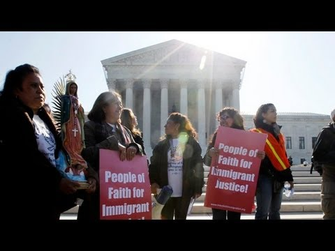 Supreme Court justices hear immigration law challenge - Worldnews.