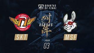 SKT x Misfits (Mundial 2017 - Quartas de Final - Jogo 3)