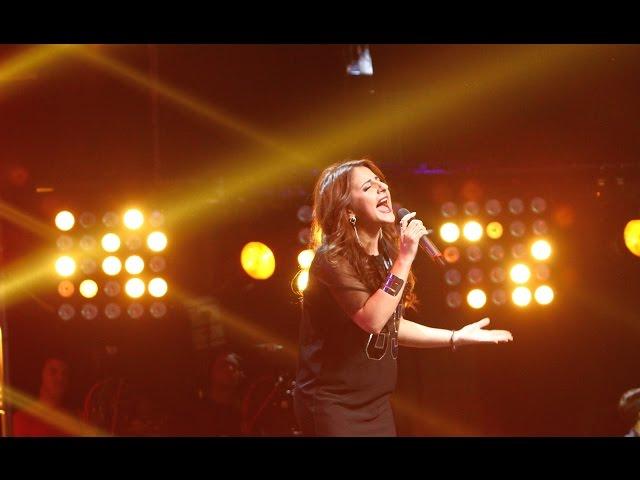 "Alicia Keys - ""Girl on Fire"". Vezi interpretarea Afinei Madoian, la X Factor!"