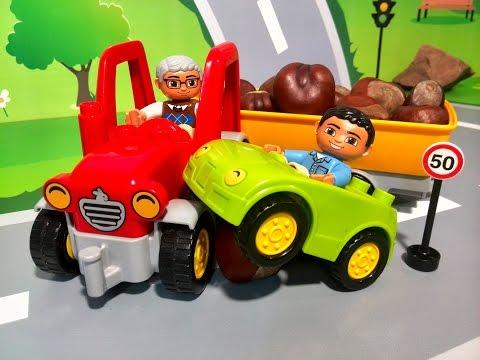 Мультики. Про машинки. Машинки мультфильм для детей. Новые мультики - авария в ЛЕГО городе.