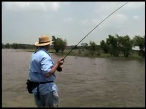 Fly Fishing for Carp on Lake Ray Roberts...