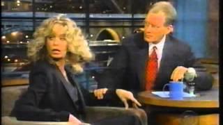 Farrah Fawcett on Letterman 1999