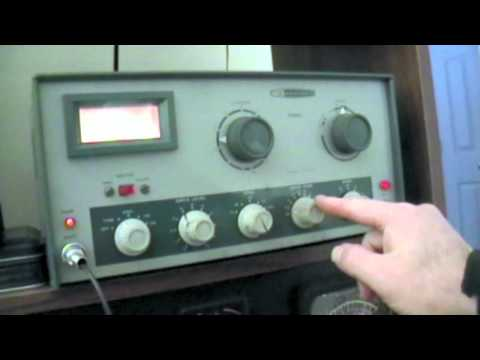Reviewing the Heathkit DX-60. S-76, HG-10B