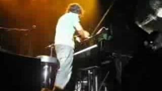 ellis wood drum stomp box australia live (Jamie Cullum)
