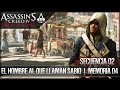 Assassin's Creed 4 Black Flag | Walkthrough | Secuencia 2 | El hombre al que llamaban Sabio |4| 100%