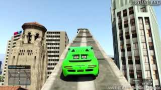 GTA 5 ONLINE Staircase To Heaven ( 4450 RP & $5400 ) ( Fun Custom Race ) GTA V MULTIPLAYER