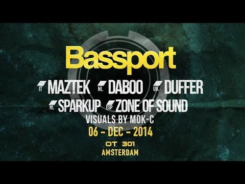 BassPort FM @ OT301 - Amsterdam - Live stream replay
