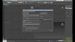 3D Max KF- Пользовательский интерфейс старт