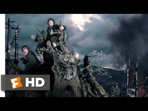 The Lord Of The Rings: The Two Towers (9/9) Movie CLIP - The Ents Attack Isengard (2002) HD