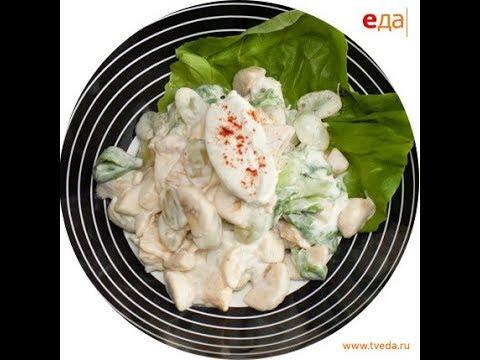 Подача французского салата Мимоза / мастер-класс от шеф-повара / Илья Лазерсон / Мировой повар