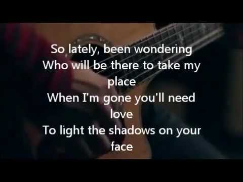 The Calling - Wherever You Will Go (boyce Avenue Acoustic Cover) - Lyrics! video
