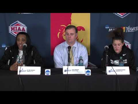Arkansas Tech Post-Game Press Conference (2016 Central Region - Semifinals)