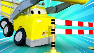 đội xe tuần tra - Ethan đi quá nhanh - Thành phố xe 🚗 những bộ phim hoạt hình về xe tải