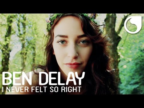 Ben Delay I Never Felt So Right music videos 2016 house