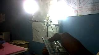 Remote Controlled Lights -Constructed by Salisu Fasaha and two other Zaria Academy, Students