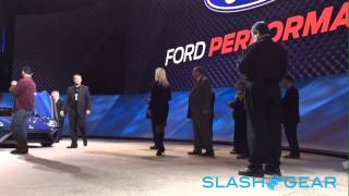 Bye bye Ford GT... watch it drives off! NAIAS 2015