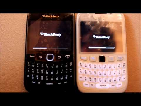 Blackberry Curve 9360 Vs Blackberry Curve 9320 - Speed Test