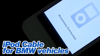 iPod Cable for BMW vehicles