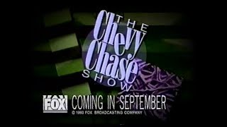 1993 - The Chevy Chase Show - Theme Song Ideas Commercial
